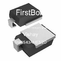 SM8S43AHE3/2D - Vishay Semiconductors - TVS 다이오드-과도 전압 억 제기