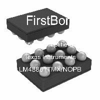 LM48861TMX/NOPB - Texas Instruments - 오디오 증폭기