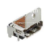 1-1747981-3 - TE Connectivity AMP Connectors - HDMI, 디스플레이 포트 및 DVI 커넥터