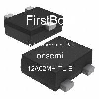 12A02MH-TL-E - ON Semiconductor - 양극성 트랜지스터-BJT