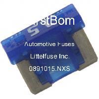 0891015.NXS - Littelfuse - 자동차 퓨즈