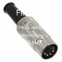 05BL5MX - Switchcraft Inc. - DIN 커넥터