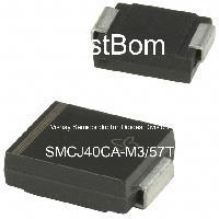 SMCJ40CA-M3/57T - Vishay Semiconductor Diodes Division