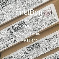 AKU342 - Akustica Inc - MEMS 마이크