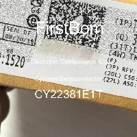 CY22381E1T - Cypress Semiconductor