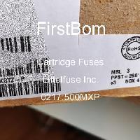 0217.500MXP - Littelfuse Inc - 카트리지 퓨즈