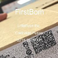 0215.250MXP - Littelfuse Inc - 카트리지 퓨즈