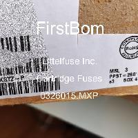0326015.MXP - Littelfuse Inc - 카트리지 퓨즈