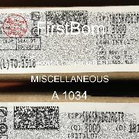 A 1034 - MISCELLANEOUS - 전자 부품 IC