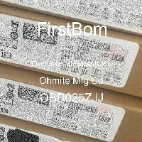 OBD025ZJJ - Ohmite Mfg Co - 전자 부품 IC