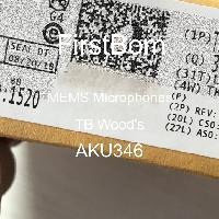 AKU346 - TB Wood's - MEMS 마이크