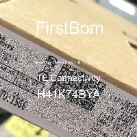 H41K74BYA - TE Connectivity - 금속 필름 저항기-스루 홀