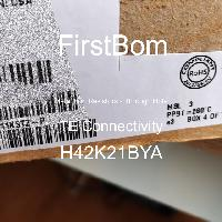H42K21BYA - TE Connectivity - 금속 필름 저항기-스루 홀