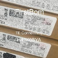 H42K0BYA - TE Connectivity - 금속 필름 저항기-스루 홀