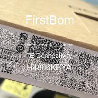H4806KBYA - TE Connectivity - 금속 필름 저항기-스루 홀