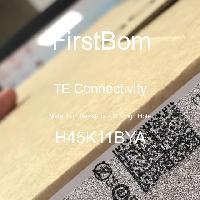 H45K11BYA - TE Connectivity - 금속 필름 저항기-스루 홀