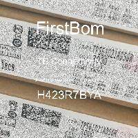 H423R7BYA - TE Connectivity - 금속 필름 저항기-스루 홀
