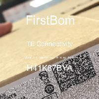 H41K87BYA - TE Connectivity - 금속 필름 저항기-스루 홀