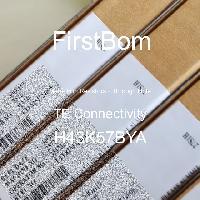 H43K57BYA - TE Connectivity - 금속 필름 저항기-스루 홀