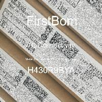 H430R9BYA - TE Connectivity - 금속 필름 저항기-스루 홀