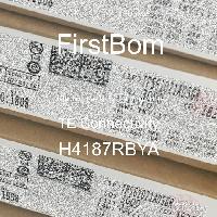 H4187RBYA - TE Connectivity - 금속 필름 저항기-스루 홀