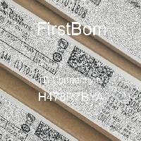H478R7BYA - TE Connectivity - 금속 필름 저항기-스루 홀