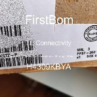 H4309KBYA - TE Connectivity - 금속 필름 저항기-스루 홀