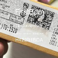 H422R1BDA - TE Connectivity - 금속 필름 저항기-스루 홀