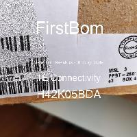 H42K05BDA - TE Connectivity - 금속 필름 저항기-스루 홀
