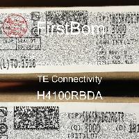 H4100RBDA - TE Connectivity - 금속 필름 저항기-스루 홀