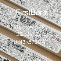 H43K57BDA - TE Connectivity - 금속 필름 저항기-스루 홀