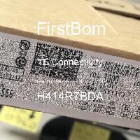 H414R7BDA - TE Connectivity - 금속 필름 저항기-스루 홀