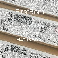 H421KBDA - TE Connectivity - 금속 필름 저항기-스루 홀