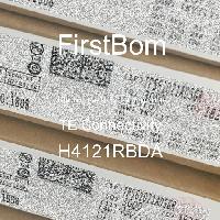 H4121RBDA - TE Connectivity - 금속 필름 저항기-스루 홀