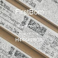H44K42BDA - TE Connectivity - 금속 필름 저항기-스루 홀