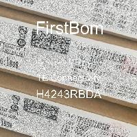 H4243RBDA - TE Connectivity - 금속 필름 저항기-스루 홀