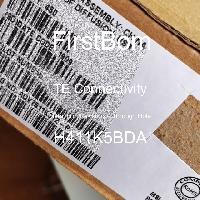 H411K5BDA - TE Connectivity - 금속 필름 저항기-스루 홀