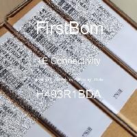 H493R1BDA - TE Connectivity - 금속 필름 저항기-스루 홀