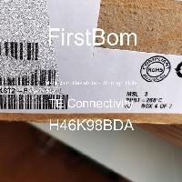 H46K98BDA - TE Connectivity - 금속 필름 저항기-스루 홀