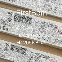 H4205KBDA - TE Connectivity - 금속 필름 저항기-스루 홀
