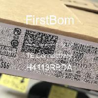 H4113RBDA - TE Connectivity - 금속 필름 저항기-스루 홀
