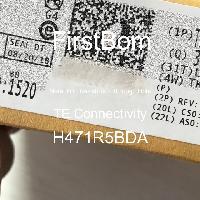 H471R5BDA - TE Connectivity - 금속 필름 저항기-스루 홀