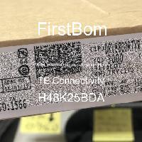 H48K25BDA - TE Connectivity - 금속 필름 저항기-스루 홀