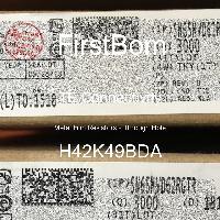 H42K49BDA - TE Connectivity - 금속 필름 저항기-스루 홀
