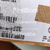 H47K5BDA - TE Connectivity - 금속 필름 저항기-스루 홀