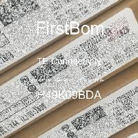 H49K09BDA - TE Connectivity - 금속 필름 저항기-스루 홀