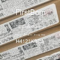 H4121KBDA - TE Connectivity - 금속 필름 저항기-스루 홀