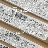 H443K2BDA - TE Connectivity - 금속 필름 저항기-스루 홀