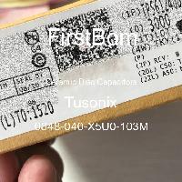 0848-040-X5U0-103M - Tusonix - 세라믹 디스크 커패시터