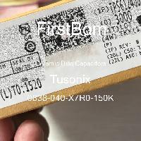 0838-040-X7R0-150K - Tusonix - 세라믹 디스크 커패시터